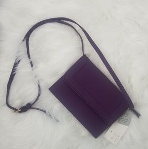 A New Day | Purple Envelope Accordion Crossbody